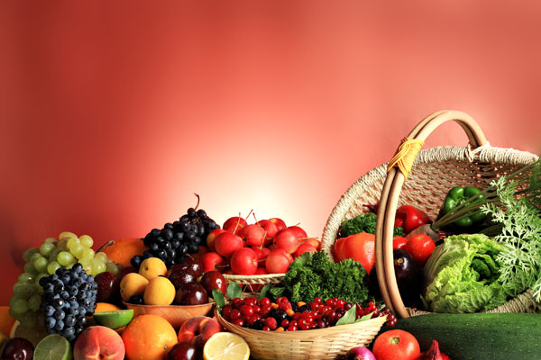GM Diet Fruits and Vegetables