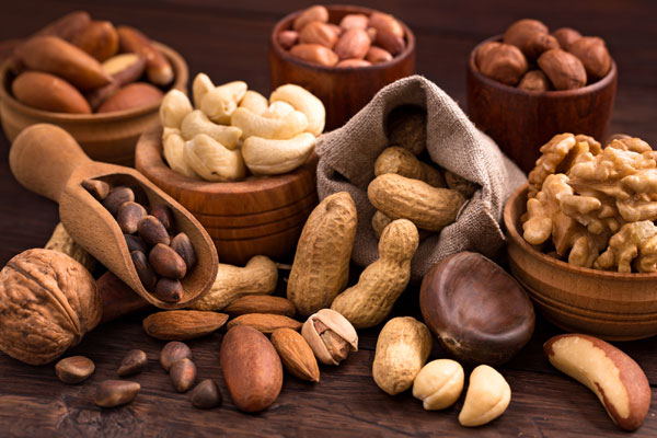 Nuts DASH Diet