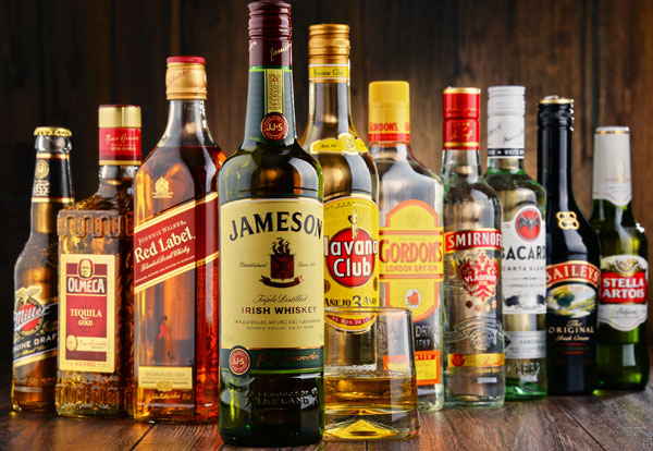 Variety of Alcohol